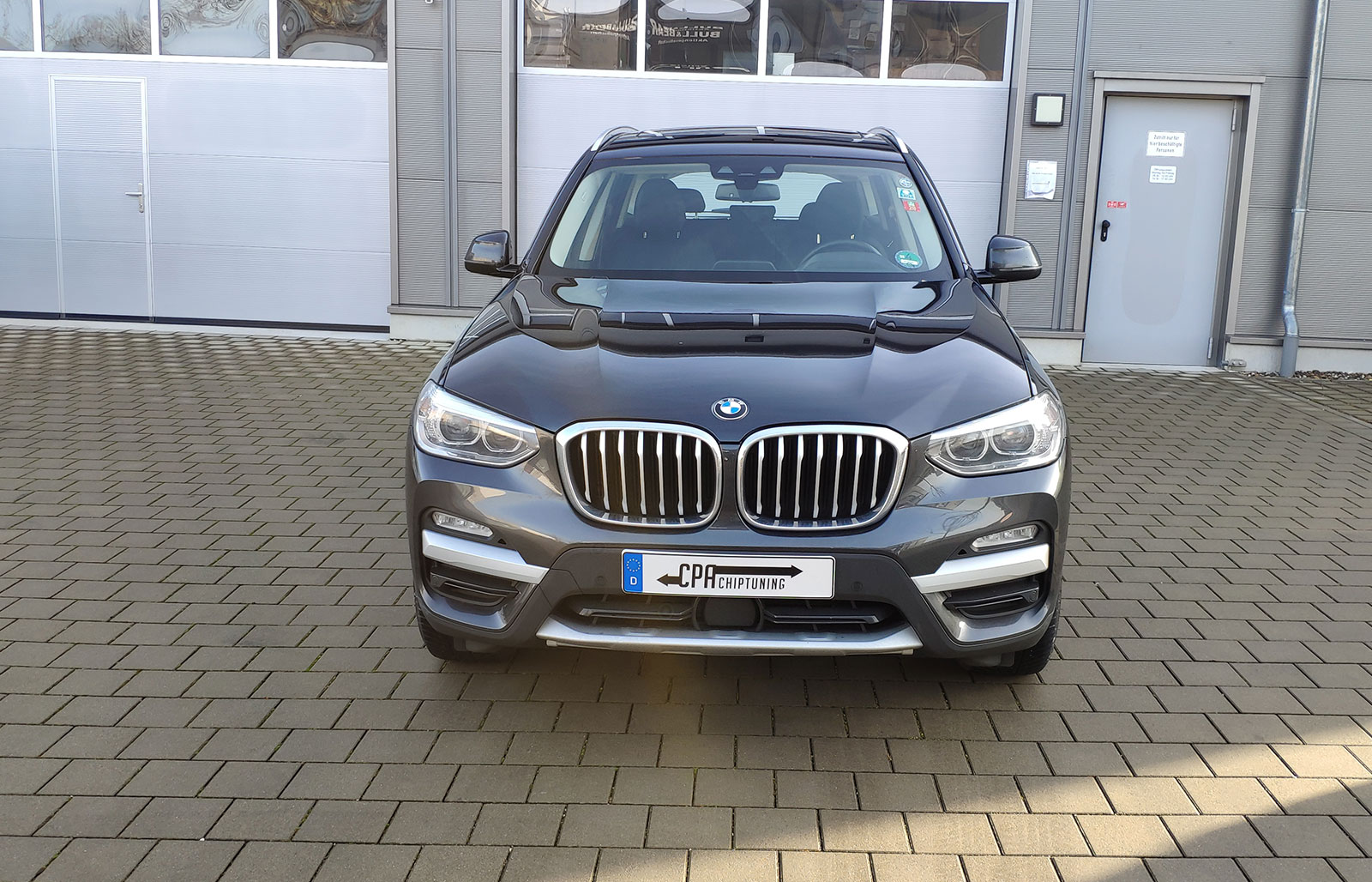The BMW X3 (G01) xDrive20d测试中